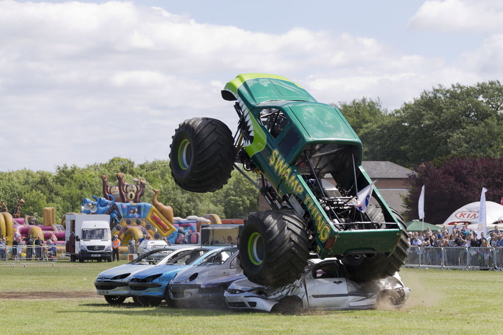 Swamp Thing Monster Truck Event